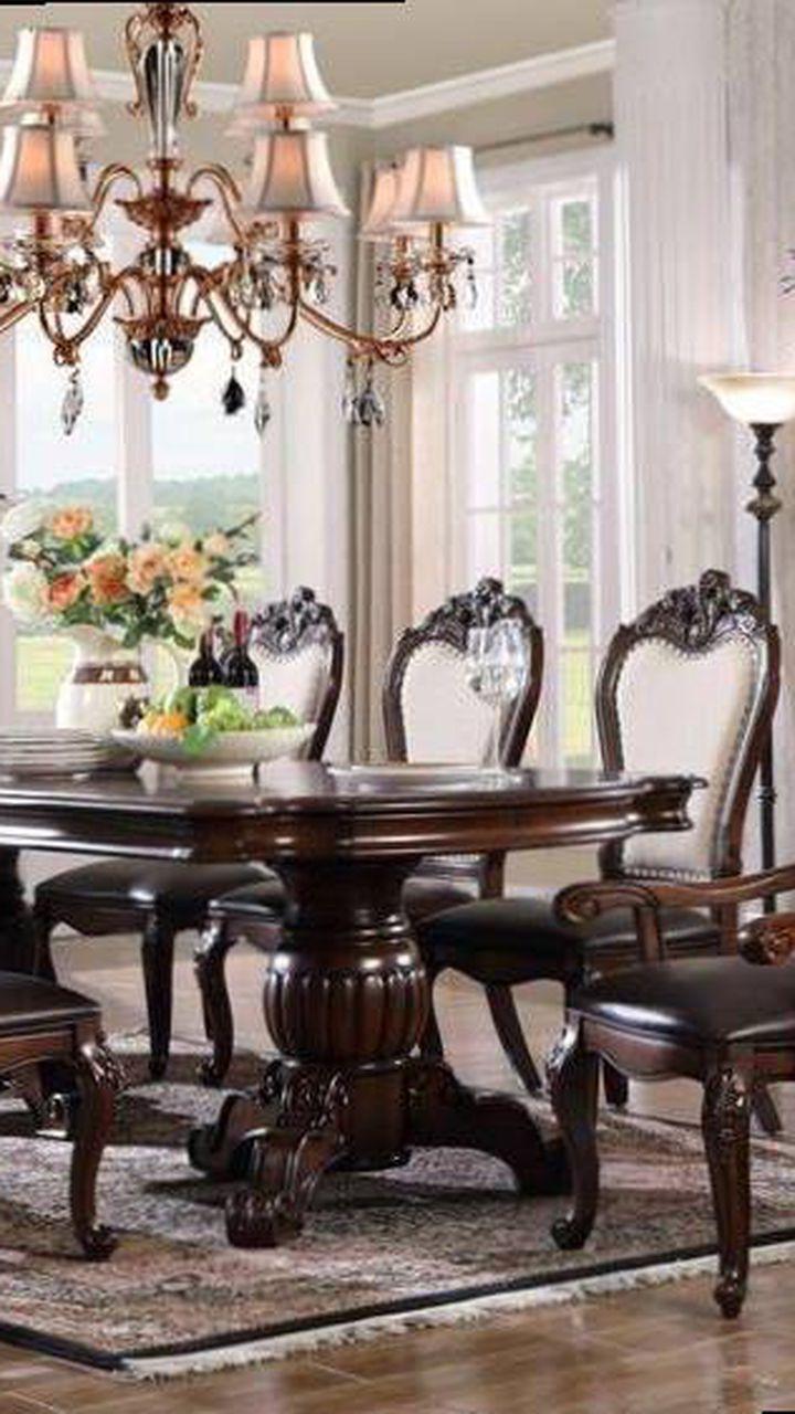 7 Pcs Dining Table  XK