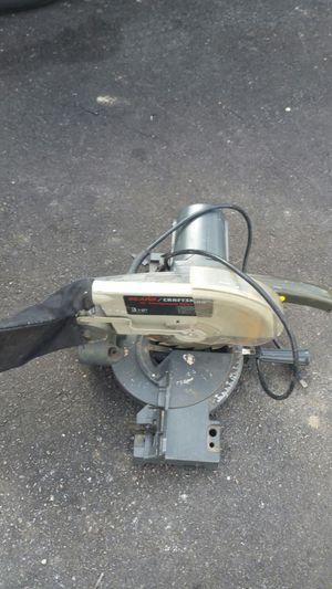 "Sears/Craftsman 10"" Compound Miter Saw 3 HP - Model 113.234640 for Sale in Beltsville, MD"