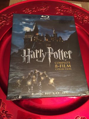 Harry Potter blue-Ray disc complete 8-film collection for Sale in Atlanta, GA