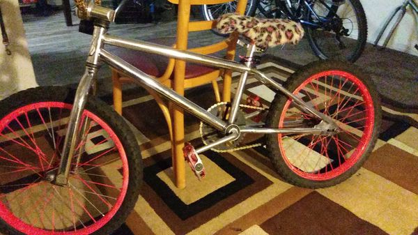 Boys 20 in chrome GT bmx bike used good cond for Sale in Orange, CA -  OfferUp
