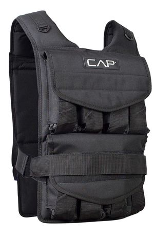 Weighted workout vest - includes weights up to 40lbs! for Sale in San Francisco, CA