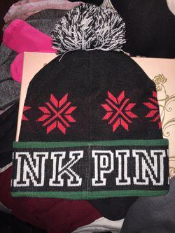 PINK beanie Thumbnail