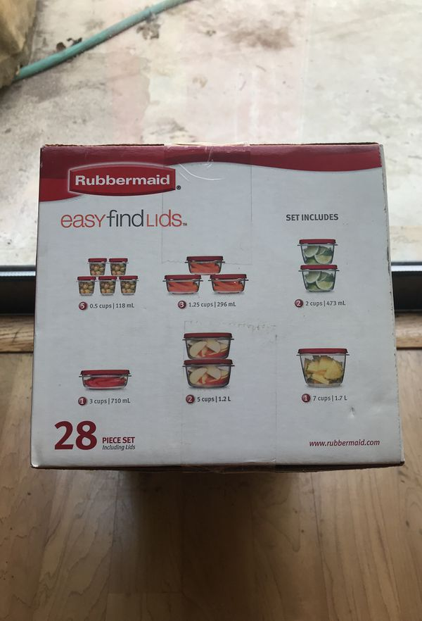 Rubbermaid Storage Containers 28pc for Sale in San Antonio TX OfferUp