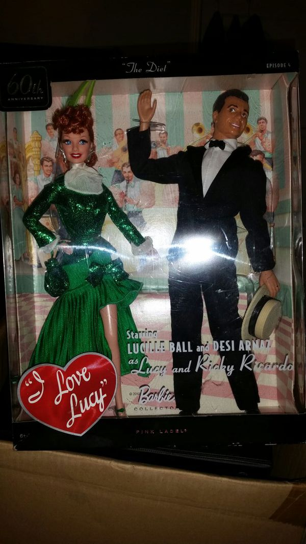Barbie Collector 60th Anniversary I Love Lucy The Diet Episode For