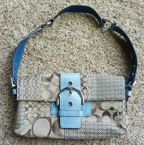 965952f907 COACH Soho Flap W snakeskin Shoulder Bag (C05Q-3689) for Sale in ...