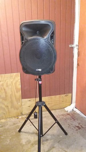TPRO Bluetooth speaker with stand for Sale in Lake Charles, LA