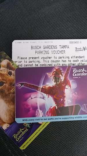 2 Howl-O-Scream tixs for $100.00 plus free parking voucher....or Trade for Halloween Horror Nights tixs for Sale in Orlando, FL