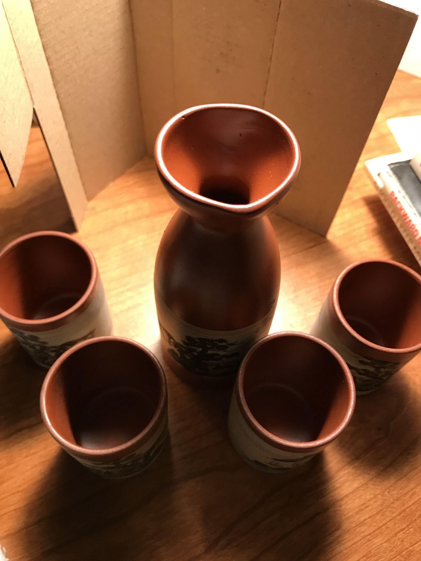 Sake Set (Ceramic and Decorative)