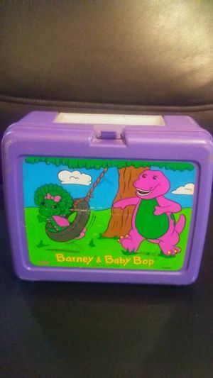 Barney and Baby Bop lunch box and thermas for sale  Tulsa, OK
