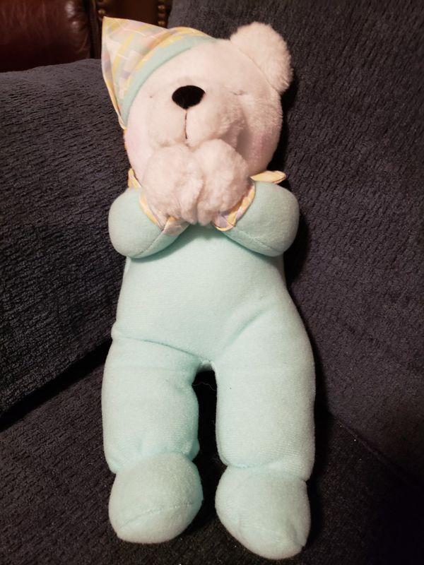Praying Bear Stuffed Animal Needs Batteries For Sale In White Bear