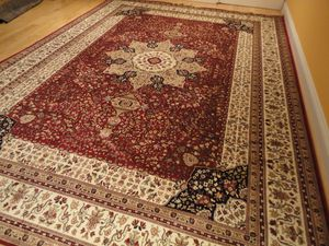 Large 8x11 silk rug carpet for Sale in Silver Spring, MD