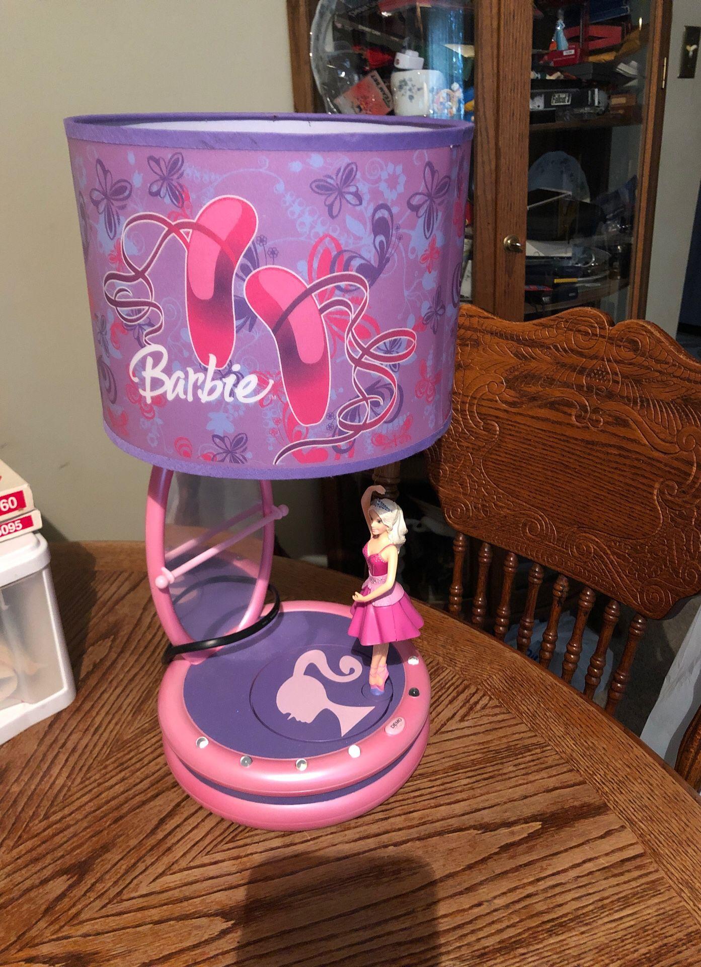 Dancing Barbie light