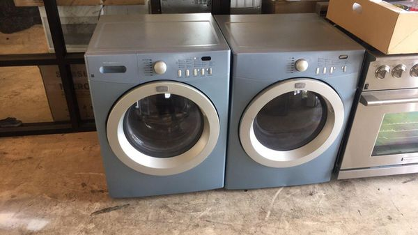 High Efficiencyaffinity Washer And Dryer Works Great Blue