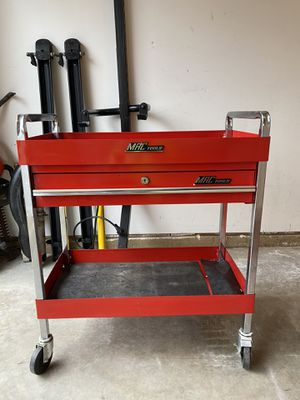 Photo MAC TOOLS rolling side cart tool box