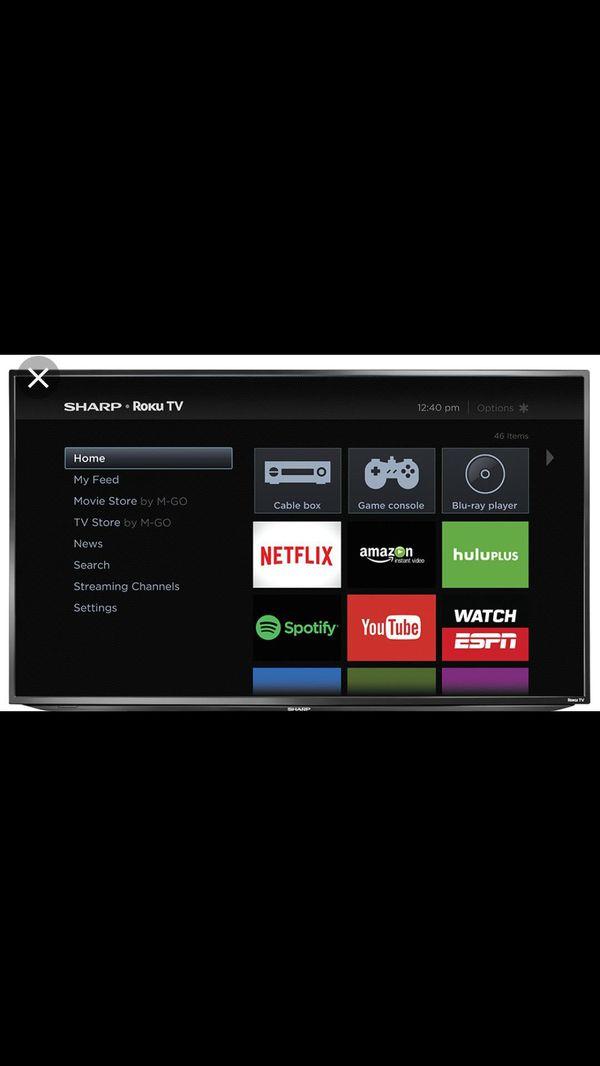 Sharp 55 inch tv lc-55lb481u for Sale in Little Rock, AR - OfferUp