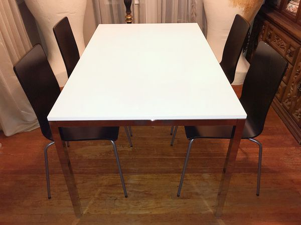 Ikea Torsby Credenza : Modern contemporary ikea dining table and chairs furniture set for
