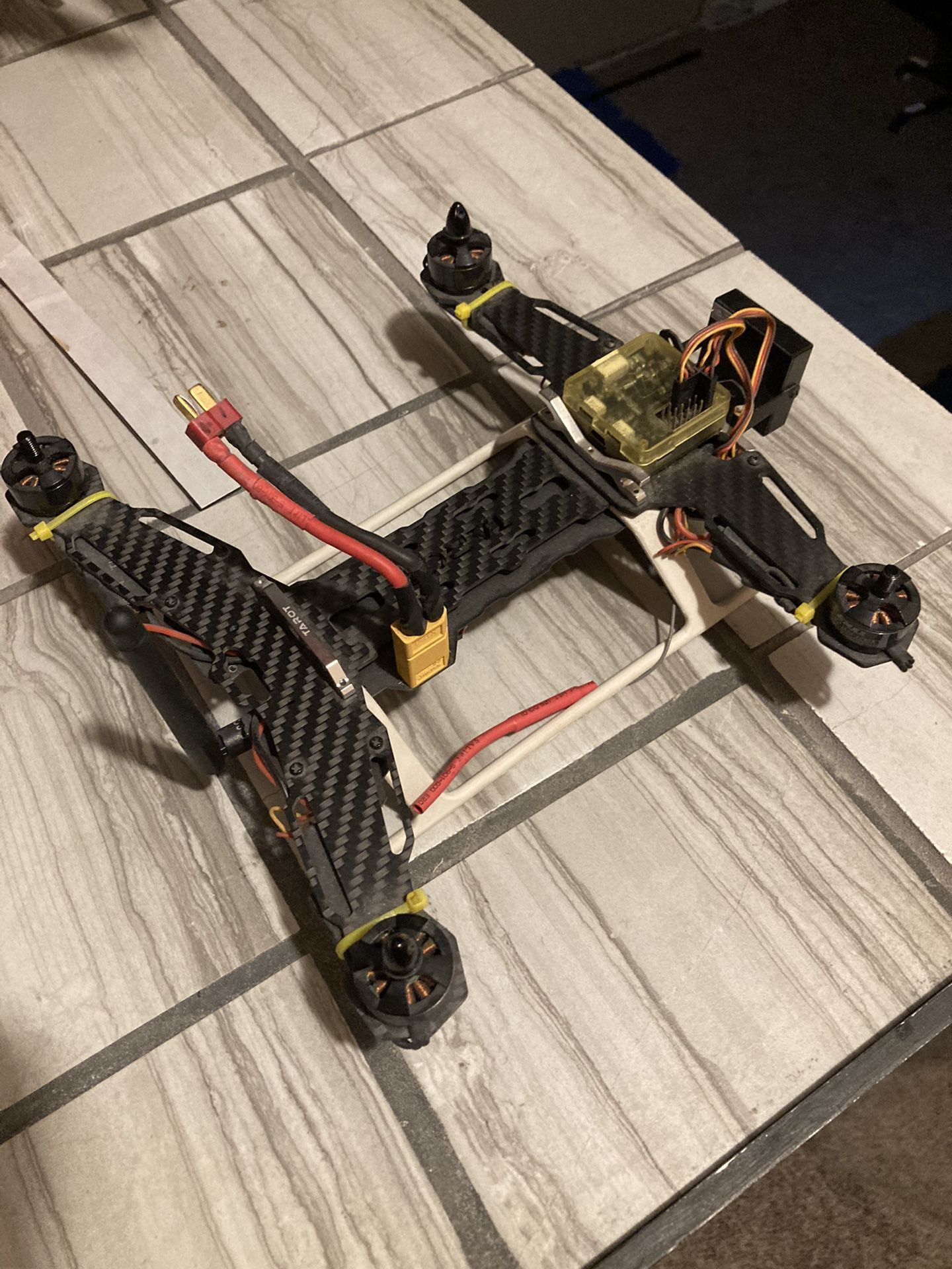 Tarot build racing drone