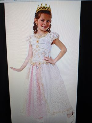 Child's Deluxe Tale Princess Wedding Costume for Sale in Apex, NC
