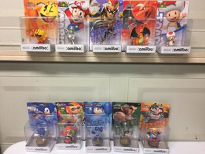 Smash Bros. Etc. Amiibos For Sale *Buy One or Buy Em All* for Sale in Austin, TX