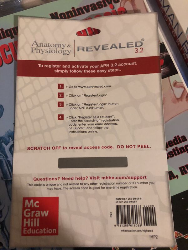 Anatomy and physiology access code- McGraw Hill for Sale in Houston ...