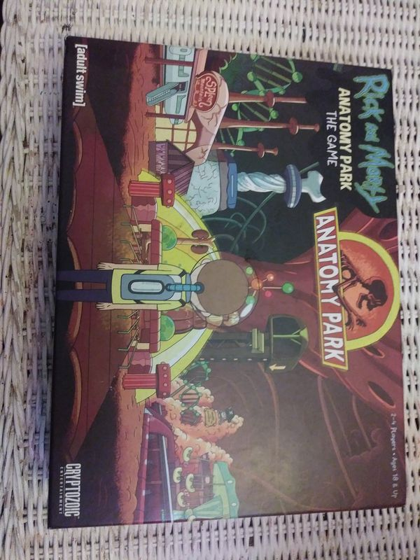 Rick and Morty Anatomy Park board game for Sale in Stockton, CA - OfferUp