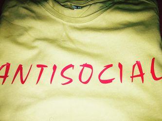 """ANTI SOCIAL"" Tee Thumbnail"
