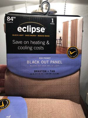 """84"""" Panel Curtains - Blackout Panels for Sale in Annandale, VA"""