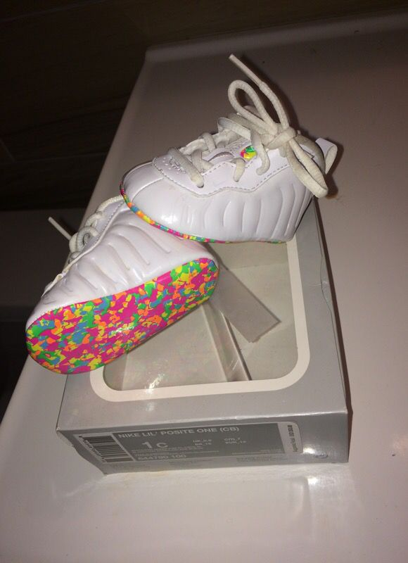 819aa9ad2f0 Foams fruity pebble size 1c (infant) for Sale in Clearwater