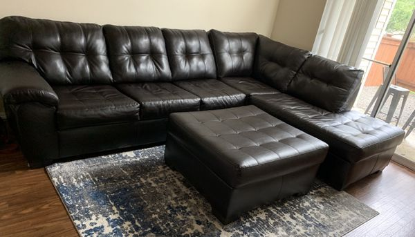Sectional Sofa With Ottoman For Sale In Bellevue Wa Offerup