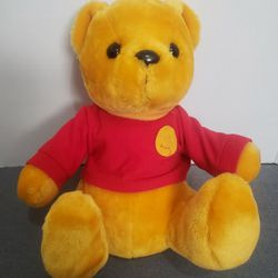 Vintage Pooh Bear Plush 13 in.  Thumbnail