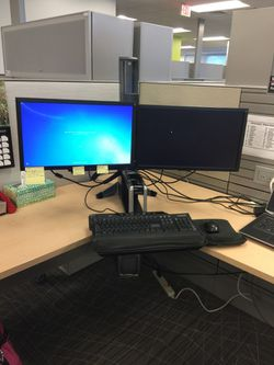 Sit to Stand Desk station Thumbnail