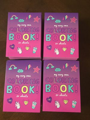 20 mini Coloring Books (New) - Great for Unicorn party for Sale in Ashburn, VA