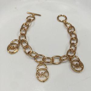 Mk Michael Kors charm padlock bracelet for Sale in Silver Spring, MD