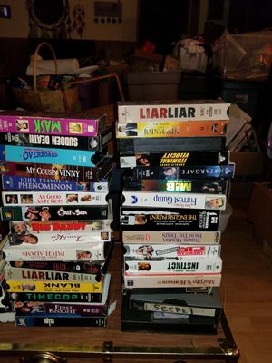 52 VCR tapes some brand new box sets for Sale in Kutztown, PA