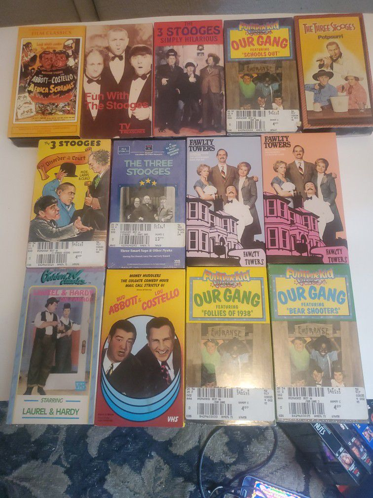 13 VHS Specialty Comedies - Top Variety