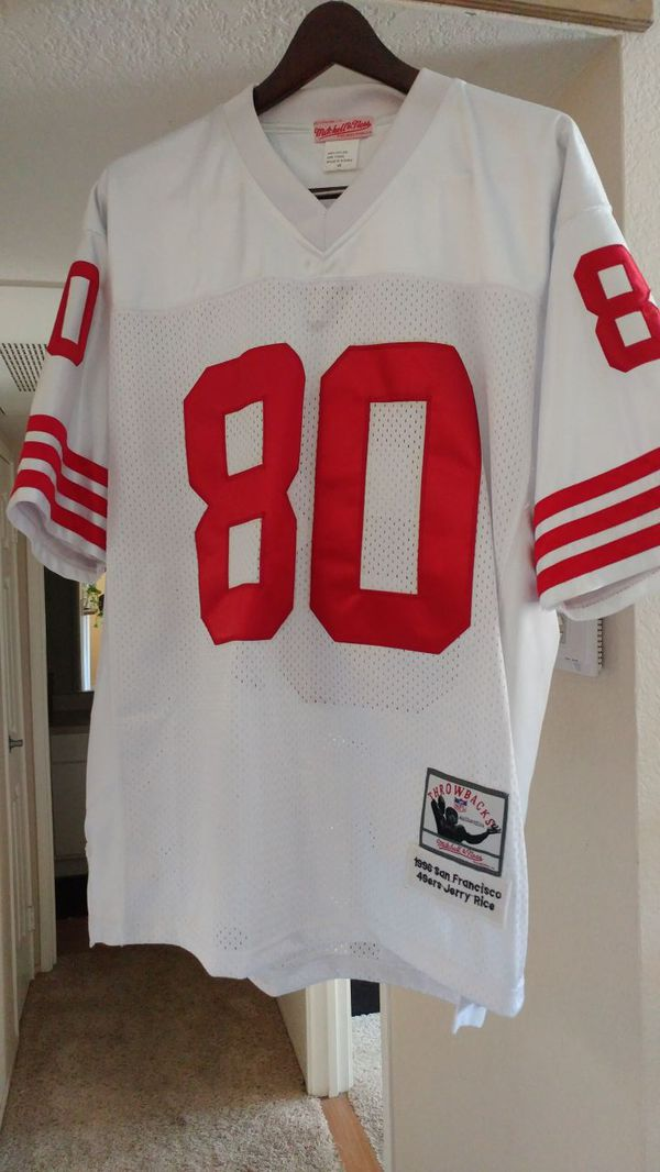 8eca1ff55 Jerry Rice SF 49ers Throwback Jersey. Brand New. (Sports   Outdoors) in  Riverside