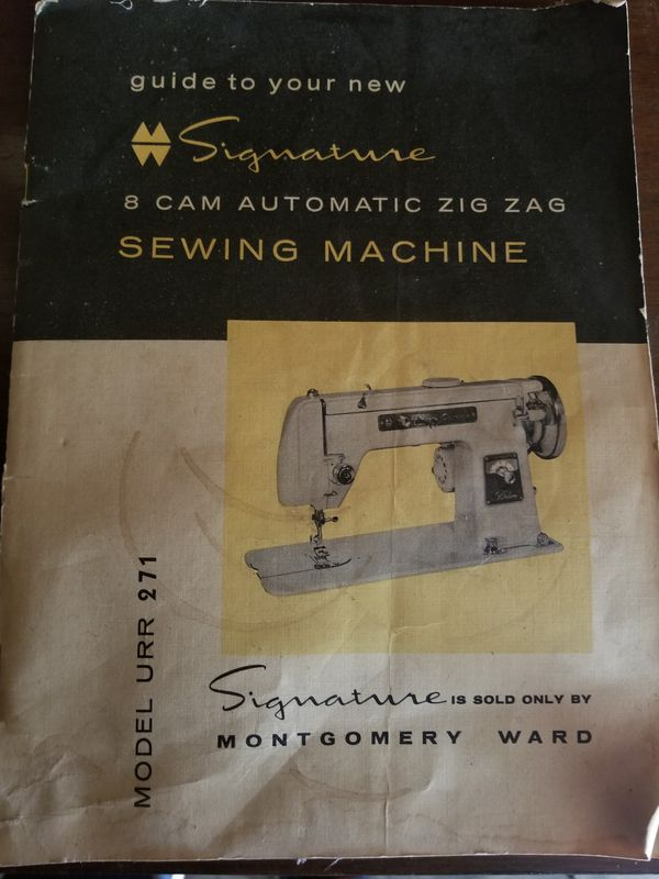 Montgomery Signature Sewing Machine For Sale In Worthington OH Magnificent Signature Sewing Machine