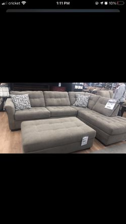 Sectional With Ottoman Thumbnail