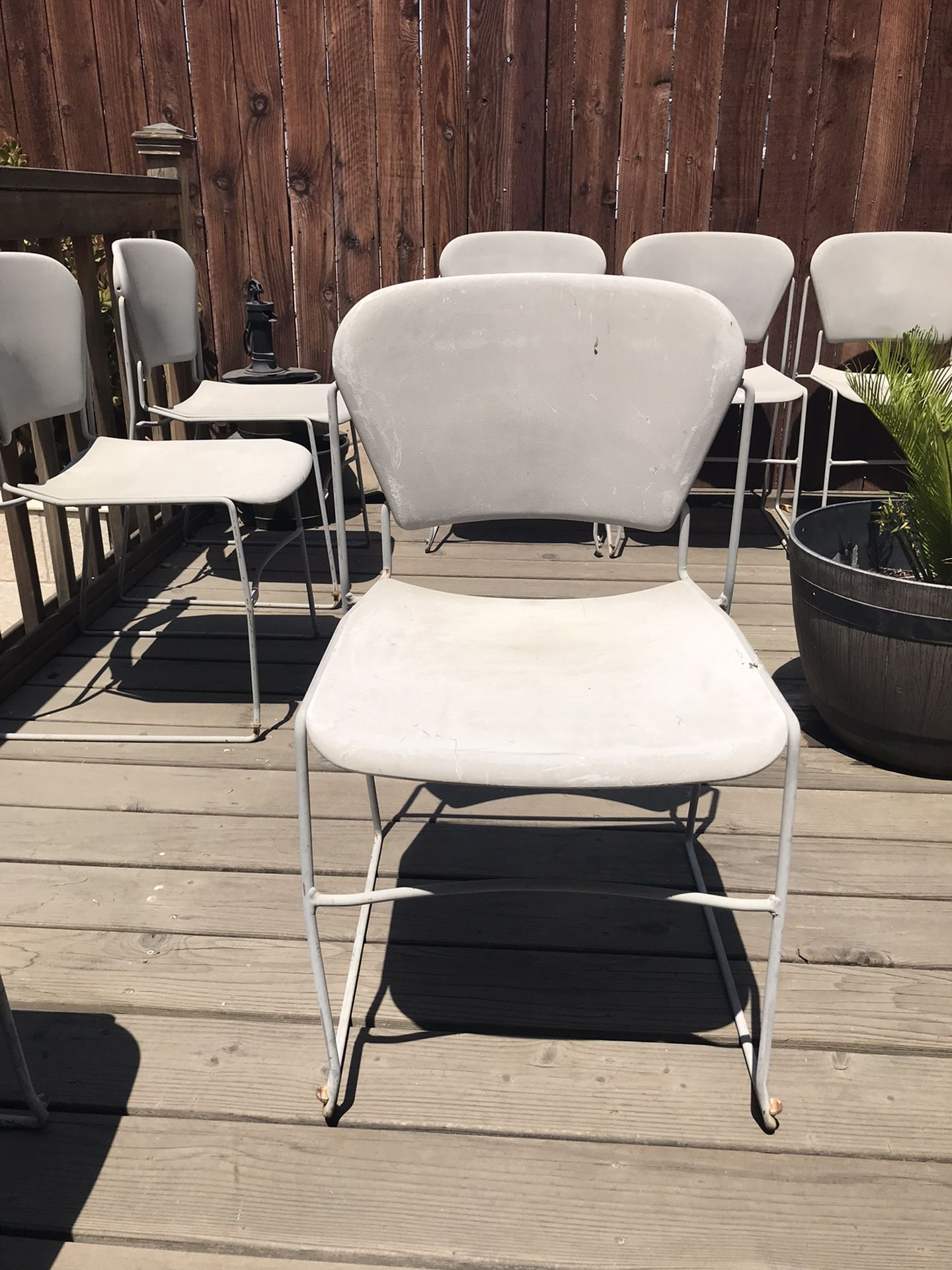 Party Chair (made Of Steel And Hard Plastic ) $5 per piece       Total Price-
