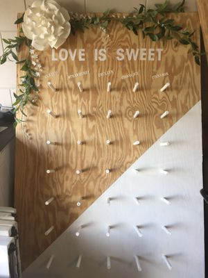 Donut wall ( doughnut) showers, weddings, dessert for Sale in FL, US