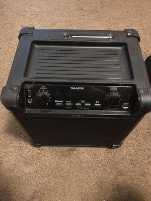 Portable black tailgater speaker/amplifier for Sale in Farmville, VA