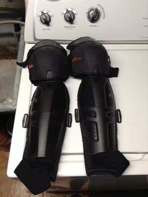 Dirt bike knee guards for Sale in Alexandria, VA