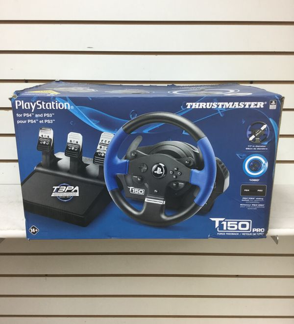 Thrustmaster T150 PRO RACING SYSTEM (PS4/PS3) for Sale in Coral Springs, FL  - OfferUp