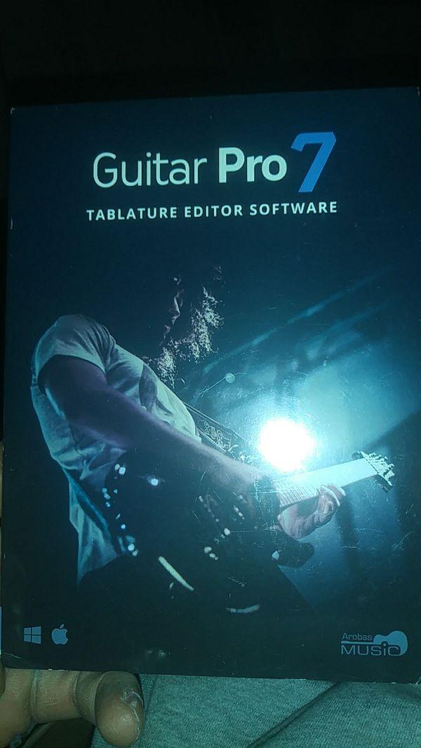 Guitar pro 7 for Sale in Hacienda Heights, CA - OfferUp
