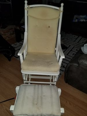 Rocking Chair with Ottoman for Sale in Silver Spring, MD