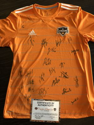 Houston Dynamo - Team Autographed Home Jersey for Sale in Houston, TX