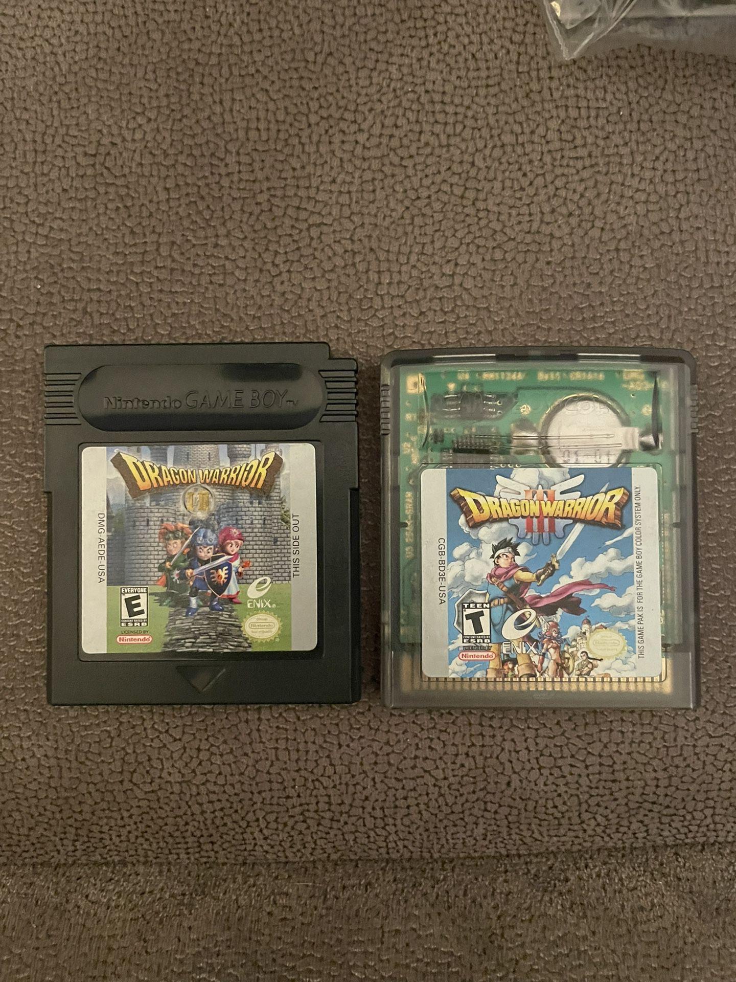 Dragon Warrior/Quest Handheld Games