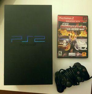 Sony PlayStation 2 with Midnight Club 3 DUB edition bundle for Sale in Miami, FL