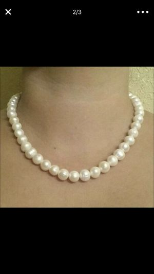 8-9mm real pearls set for Sale in Fairfax, VA