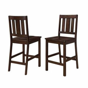 Better Homes and Gardens Bankston Counter Height Stool, Set of 2, Mocha for Sale in Bristol, CT